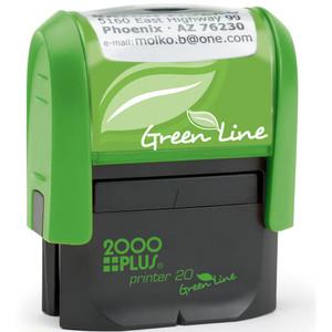 GP20 Green Line stamp